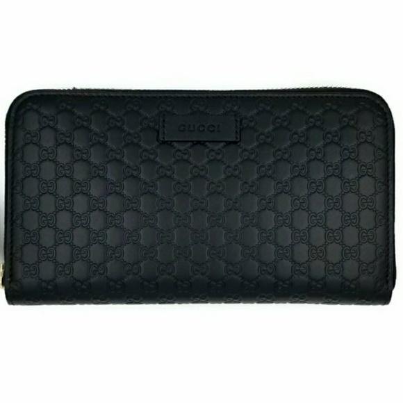 Gucci Handbags - Gucci Guccissima Leather Continental Clutch Wallet
